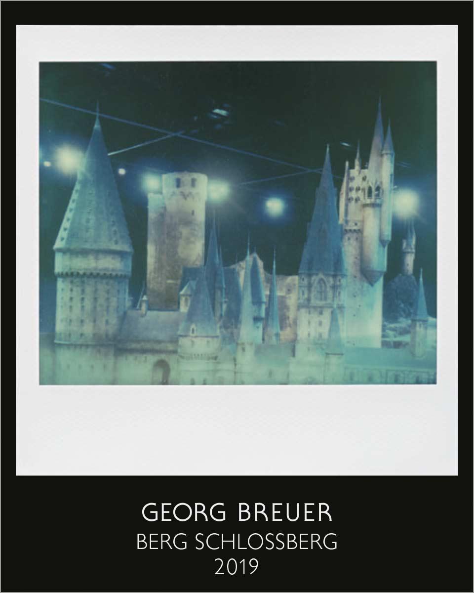 Georg Breuer, Künstleretikett 2019 Berg Schlossberg von Gerrit Frohne-Brinkmann