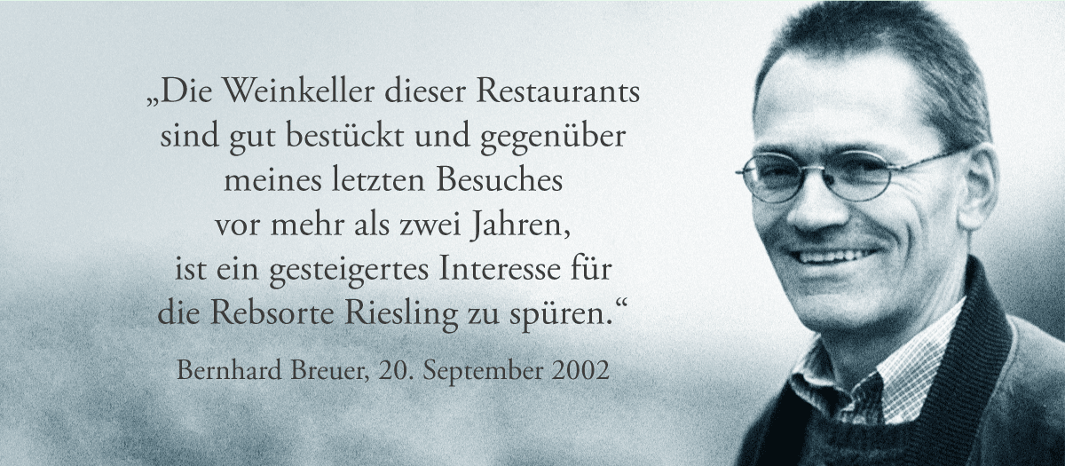 Bernhard Breuer, Weintagebücher
